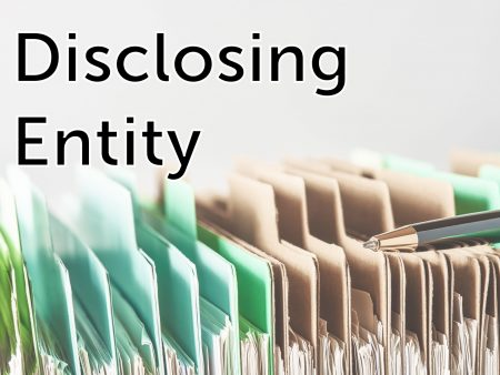 Disclosing Entity