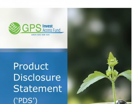 Pages from Product Disclosure Statement - GPS Invest Access Fund - July 2017