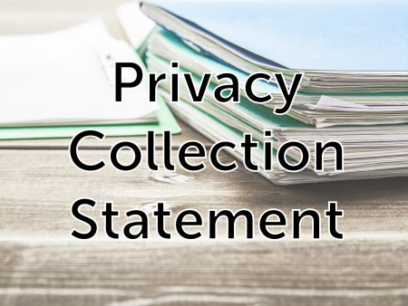 Privacy Collection Statement
